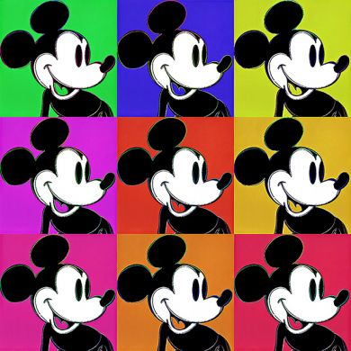 Andy Warhol Mickey