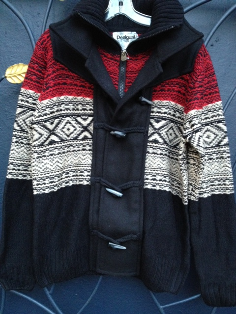 new.mens.Desigual.sweater.jacket