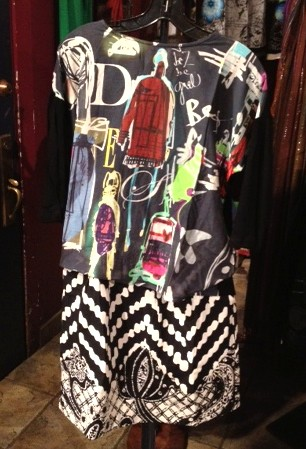Desigual.a.panese.top.amd.great.moments.skirt