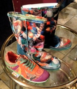 We sell these Desigual shoes and boots