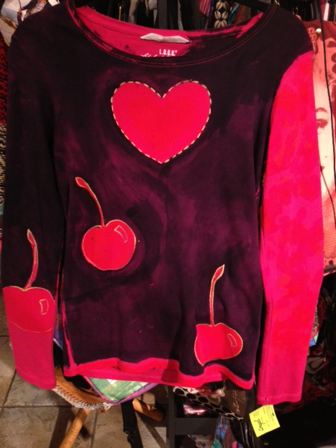 heart.n.cherries.angelshirt