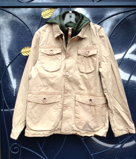 Desigual.Chaq.Ludwig.mens.spring.cotton.coat