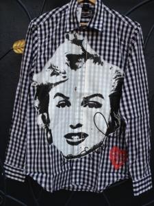 Desigual.Cuadros.Marilyn.shirt