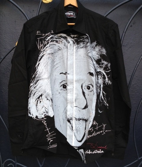 Desigual.Einstein.shirt from angelvancouver.com