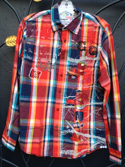 Desigual.mens.Blai.shirt