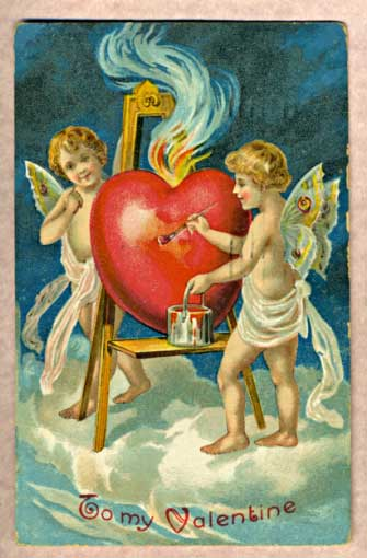 Antique.Valentine.1909