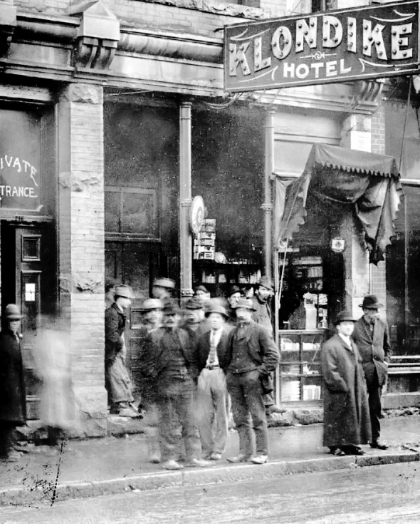 Klondike Hotel.218 Carrall Street.1912. City of Vancouver Archives #359-36