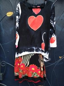 Angel.handpainted.heart.shirt.cirque.sin.phony.skirt