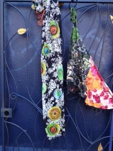 Desigual.Militar.scarf.and.bufa.flowers.$44