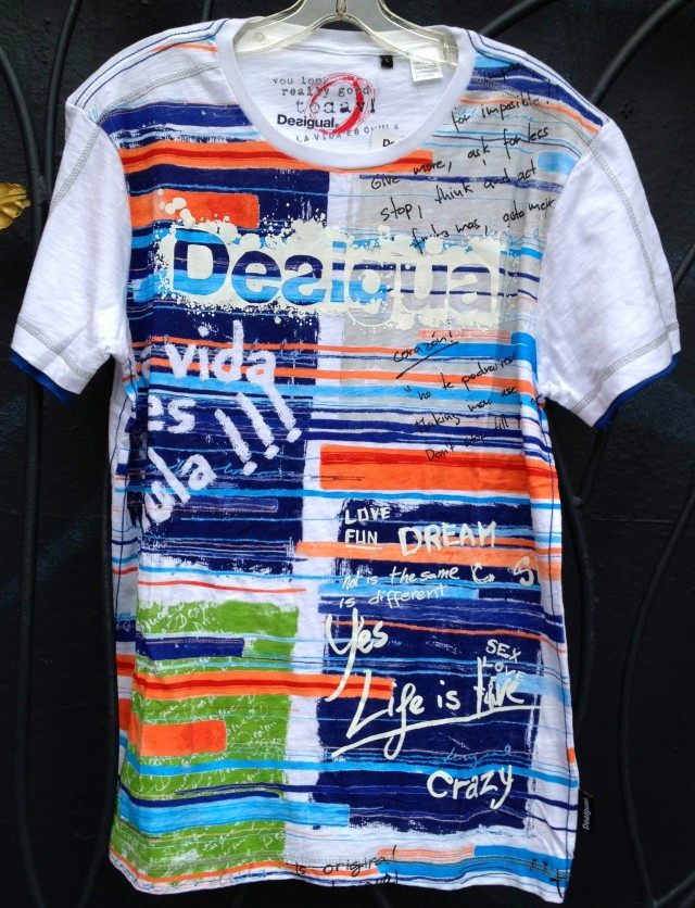Desigual.colour.blocks.Tshirt.$79
