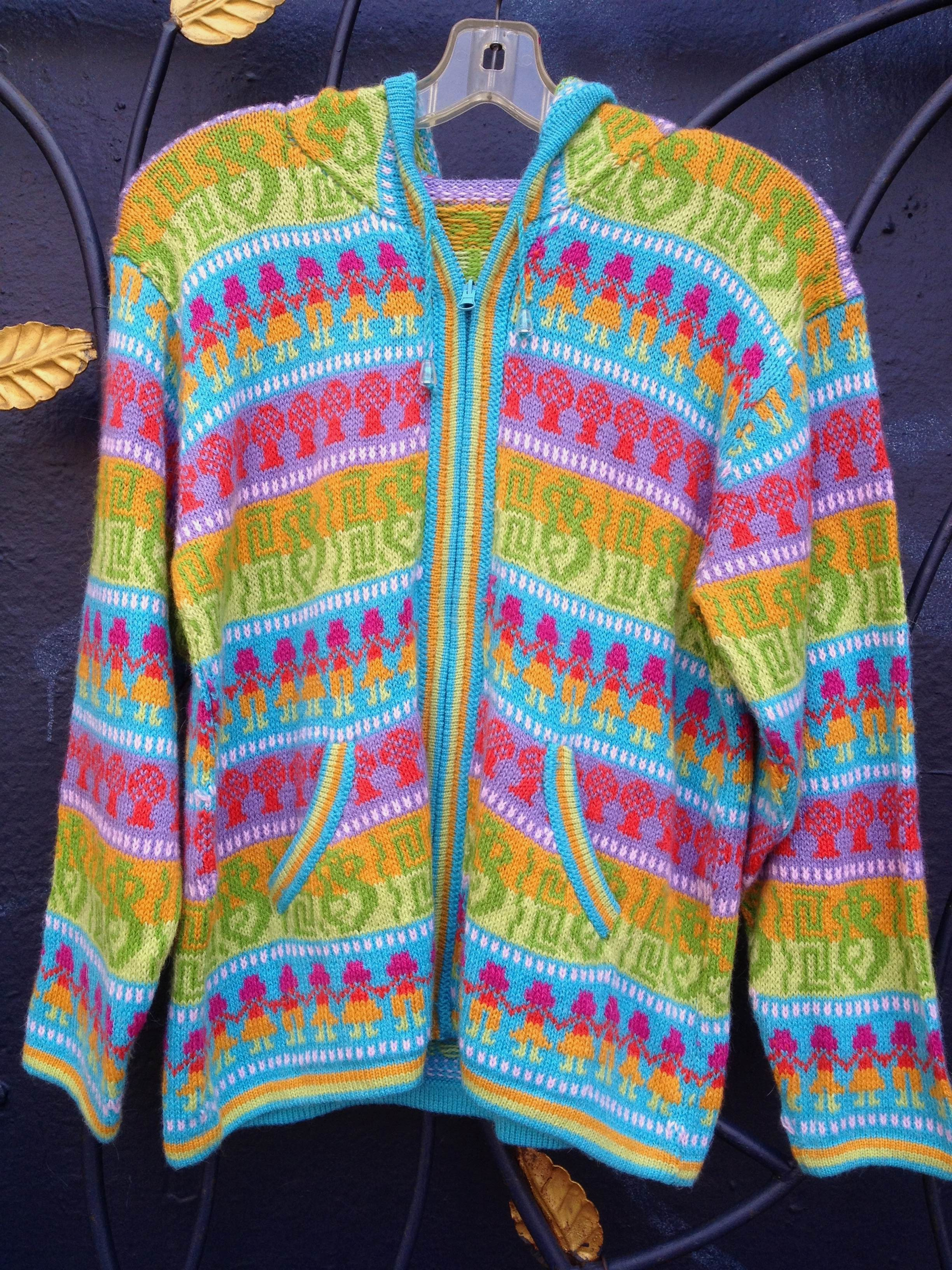 Sweaters from Peru for kids & adults 15 % off at Angel ...