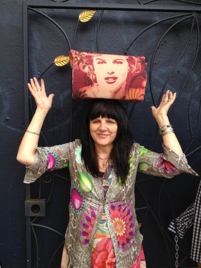 Desigual DEMANA purse with Marilyn by Lacroix SS2013