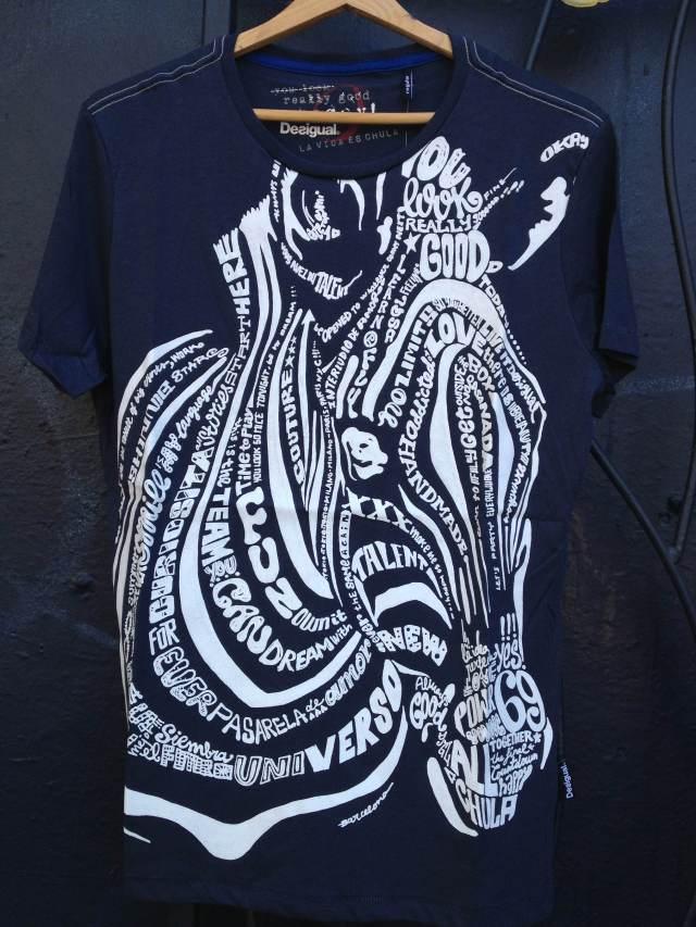 Desigual.zebra.lettering.shirt