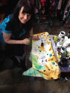 jackie.painting.may.2013