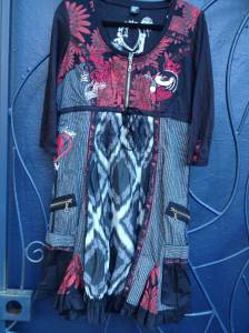 Desigual.Arth.dress.$174.zip.front.fall