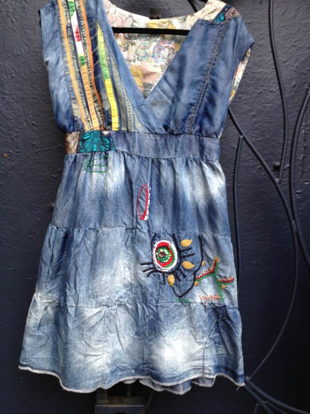 Desigual.burlington.patch.dress.$169