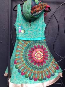 Desigual.Galactic.dress.$119.and.Desigual.scarf.$44