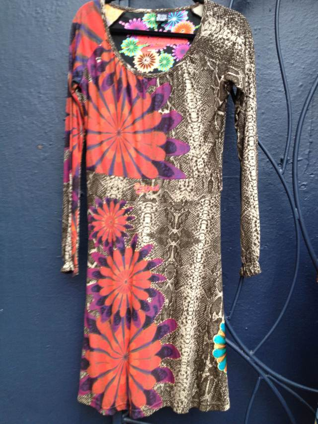 Desigual.Tiffannelle.dress.$124