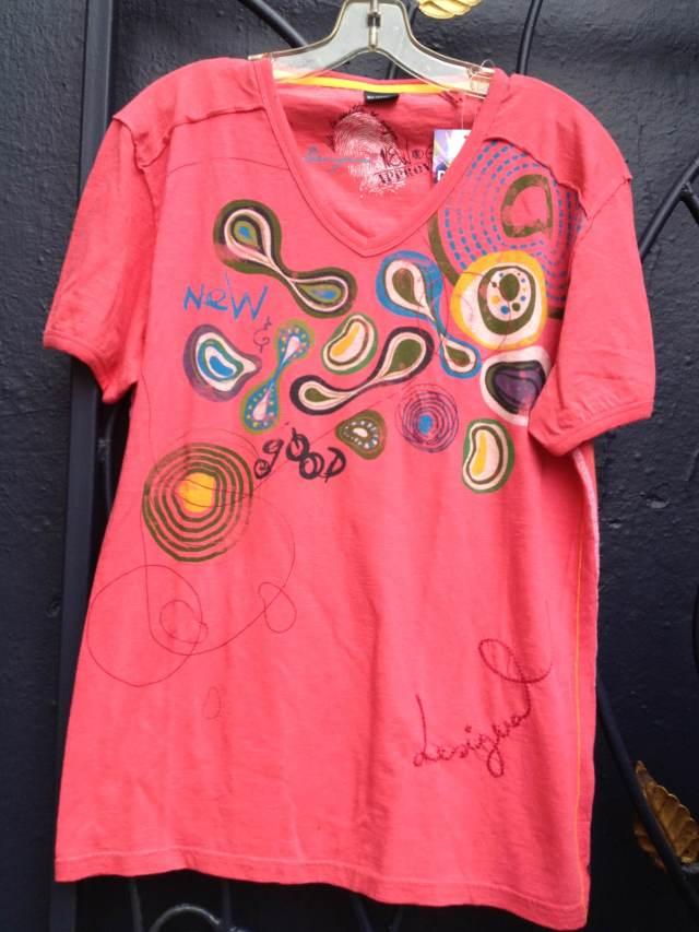 Desigual,Manolo.Flowers.Tshirt.$74