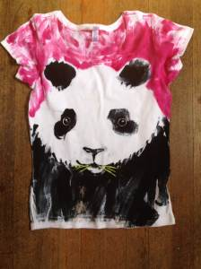 Handpainted.panda.shirt.july15.2013
