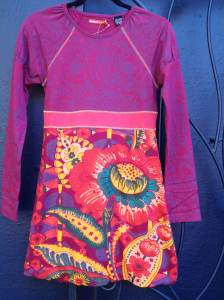 Desigual.Gracilis.girls.dress.fall.winter.2013.size.13.14.$79