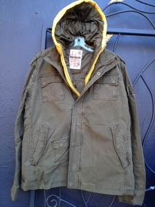 Desigual.Military.Jacket.Neon.Yellow.liner.for.men.fw.2013.$348