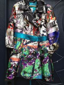 Desigual.multi.coloured.coat.$374