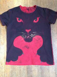 Angel.red.panther.shirt