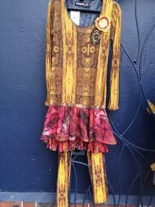 Desigual.Clangor.dress.L.$254.Lacroix.and.Am.Ow.leggings.S.$74