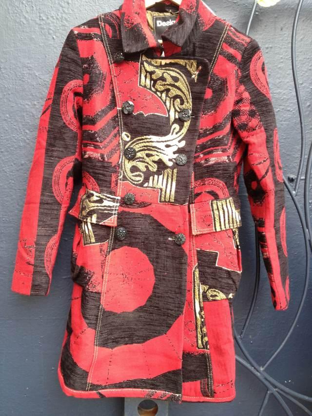 Desigual.Posthuman.Lacroix.coat.44.$439