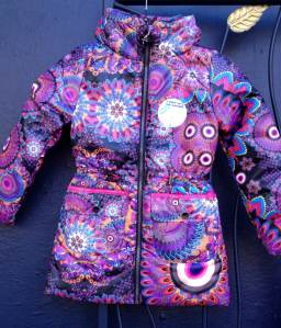 Desigual.Bon.girls.jacket.water.repellent.$154