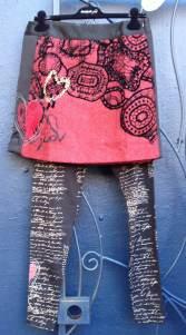Desigual.passion.skirt.$134.and.Keso.leggings.$49