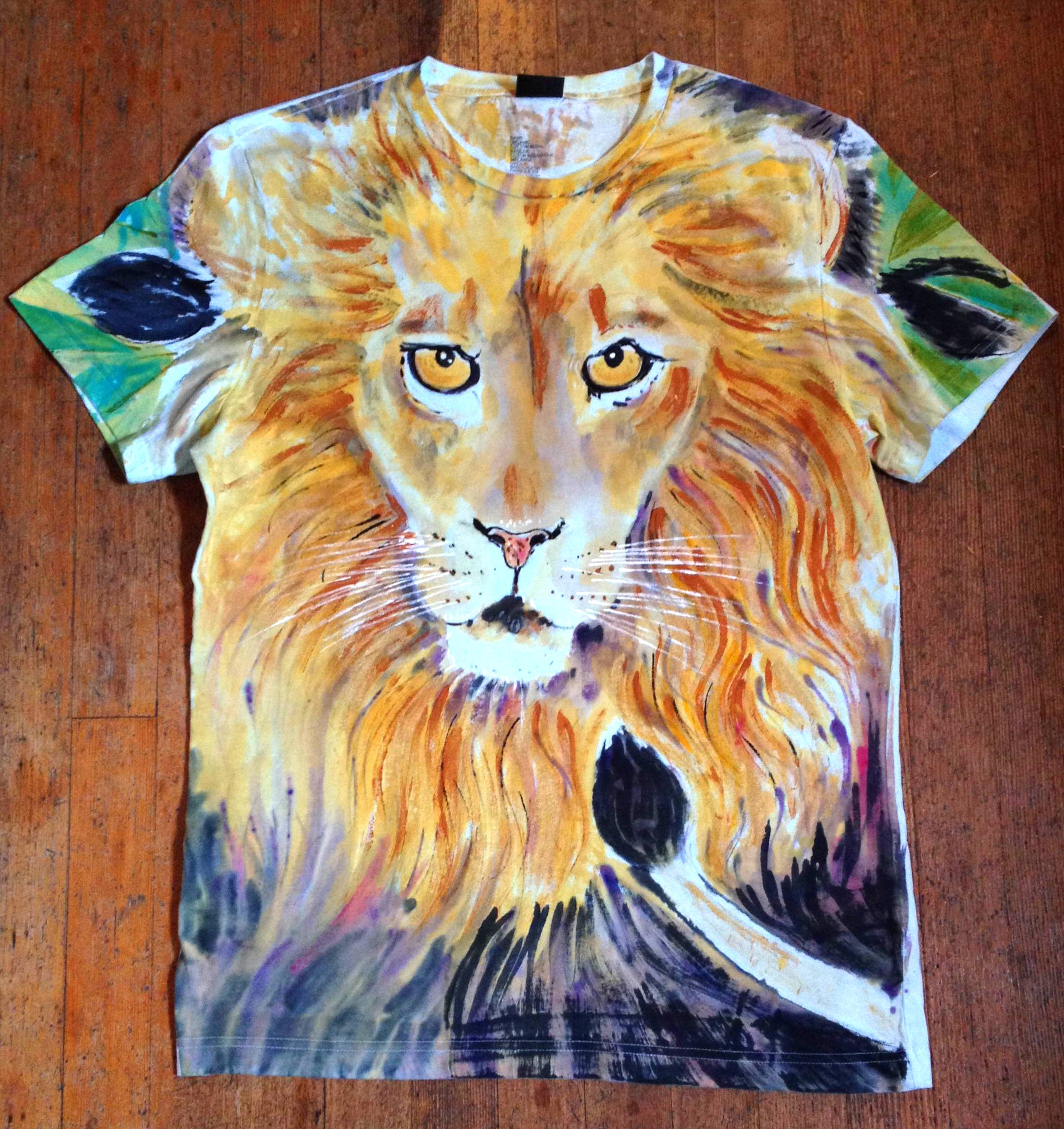 Displaying 17> Images For - Painted On Clothes Women...