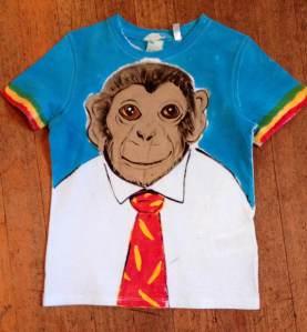 Angel.Monkey.shirt.kids