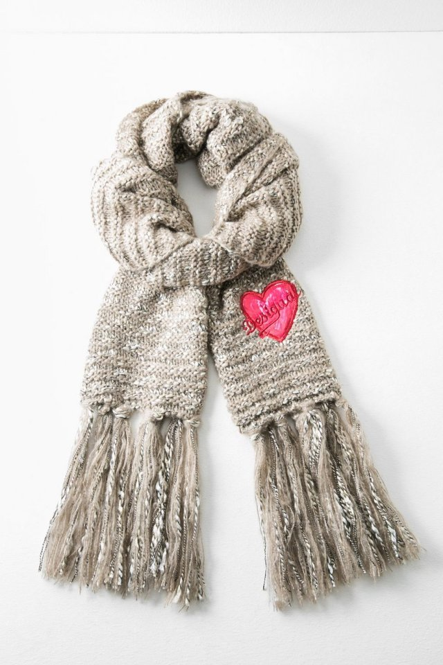 Desigual BASIO scarf. $69.95. Angel also has matching BASIO gloves.
