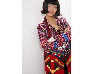 Desigual CARDIGAN GUADIX by Christian Lacroix. Was $179. Now $126 (30% off) Fall-Winter 2015 collection.