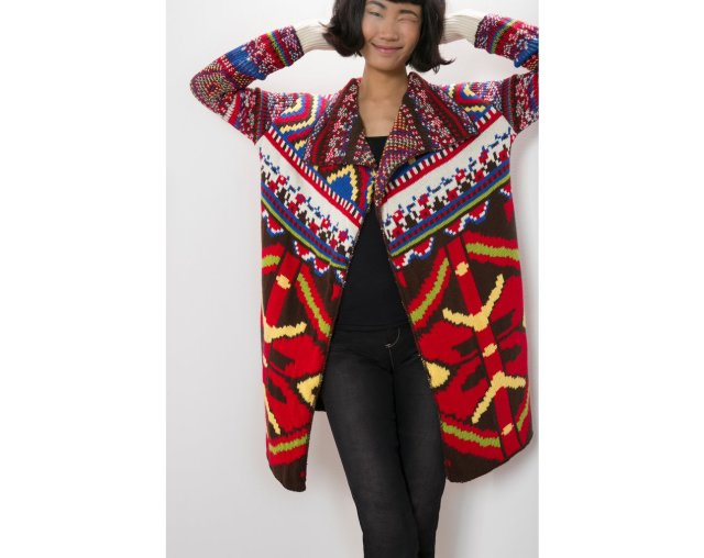 Desigual CARDIGAN GUADIX by Lacroix. $179. Fall-Winter 2015