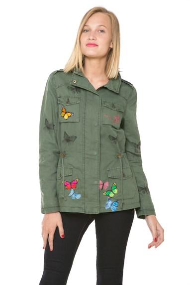 Desigual MILITAR jacket. $255.95. Spring-Summer 2016.