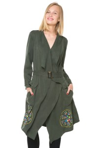 Desigual CHERYL trench coat for Spring-Summer 2016. $169.95.