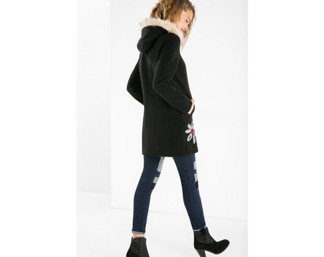 Arriving soon: Desigual SIX coat (back). $279.95. Fall-Winter 2015