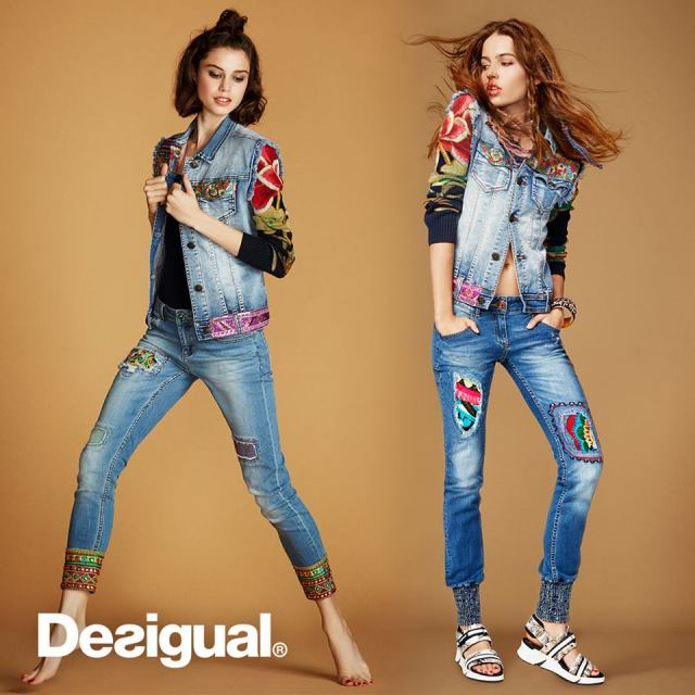 Desigual.ETHNIC.DELUXE.jean.jacket.and.ETHNIC.ANKLE.jeans
