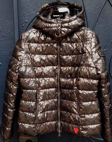 Desigual Grecia puffy coat Was $234. Now on sale for $164. Winter 2015 collection.