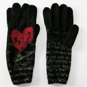 Desigual HEART gloves, $49.95.