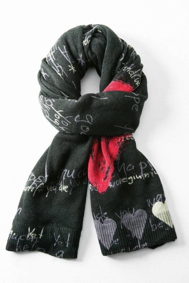Desigual HEART scarf. $109.95.