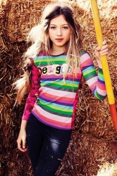 Desigual.kids.ABELLAN.top.sizes.4.to.14.fall.2013