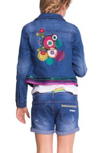 Back of the Desigual ARTURO jean jacket, $122,