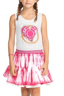 Desigual BERGUA kids dress. $74. Spring-Summer 2015.