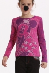 Desigual.kids.long.sleeve.cotton.Tshirt.BLAN