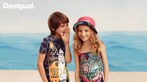 Desigual.kids Spring-Summer 2016 collection in Vancouver Canada
