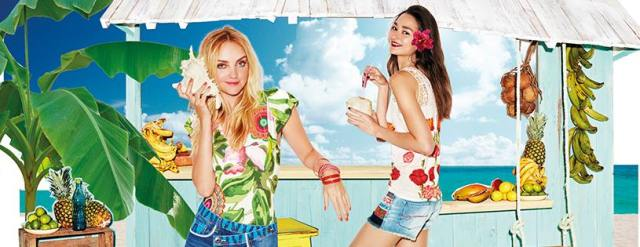 Desigual has the look of summer. 2016,